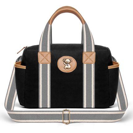 FSGC9045-Bolsas-Maternidade-Frasqueira-Adventure-Sarja-Preto---Classic-for-Baby-Bags