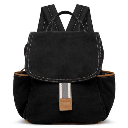 MCA9045-Bolsas-Maternidade-Mochila-Adventure-Sarja-Preto---Classic-for-Baby-Bags