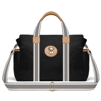 BSA9045-Bolsas-Maternidade-Adventure-Sarja-Preto---Classic-for-Baby-Bags
