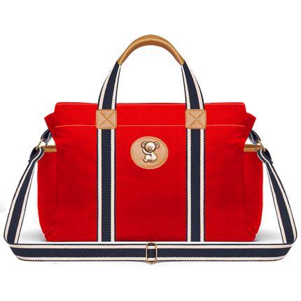 BSA9042-Bolsas-Maternidade-Adventure-Sarja-Vermelho---Classic-for-Baby-Bags
