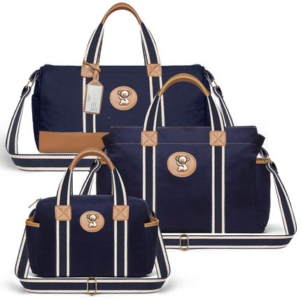 MA9043-BSA9043-FSGC9043-Bolsa-Maternidade-Kit-Sarja-Marinho---Classic-for-Baby-Bags