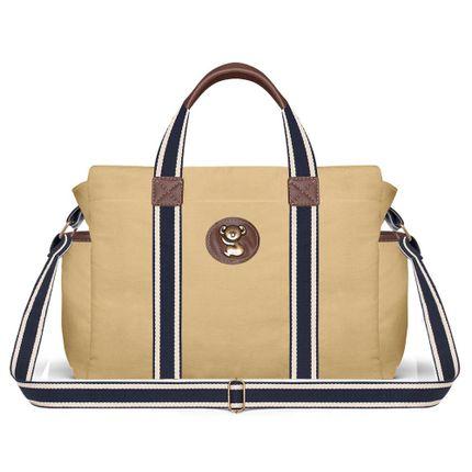 BSA1643-B Bolsa Maternidade  Adventure Caramelo - Classic for Baby Bags