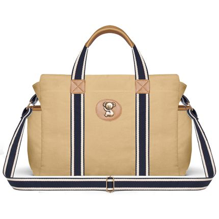 BSA1643--Bolsa-Maternidade-Adventure-Caramelo---Classic-for-Baby-Bags