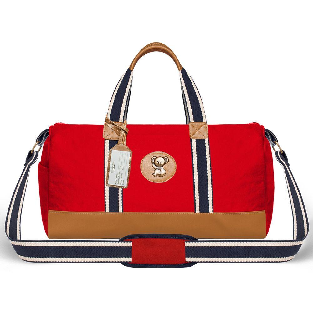 MA9042-Bolsas-Maternidade-Adventure-Sarja-Vermelho---Classic-for-Baby-Bags