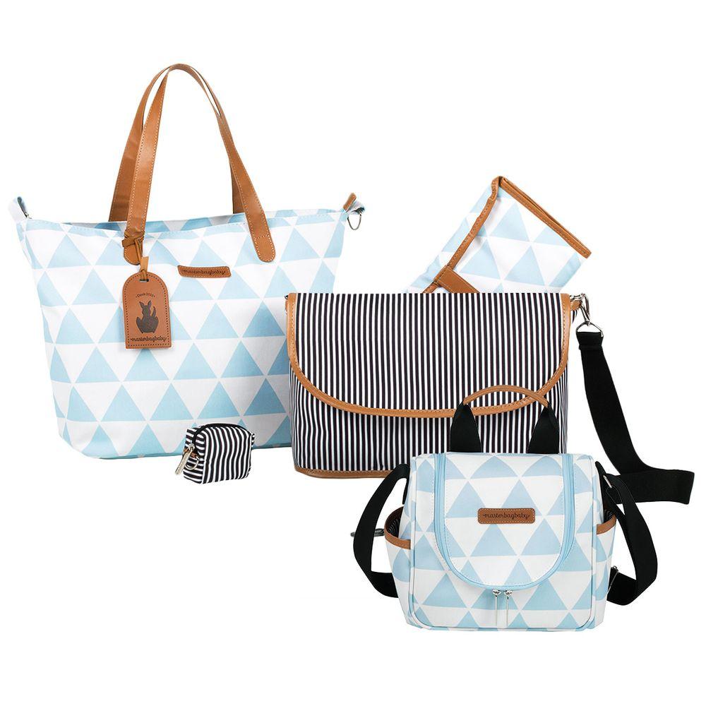 MB12MAN398.04---MB12MAN238.04-Bolsa-Maternidade-Kit-2-pecas-Manhattan-Azul---Masterbag