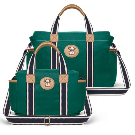 BSA1230-FSGC1230--ID65405---Bolsa-Maternidade-Kit-2-pecas--Adventure-Verde---Classic-for-Baby-Bags