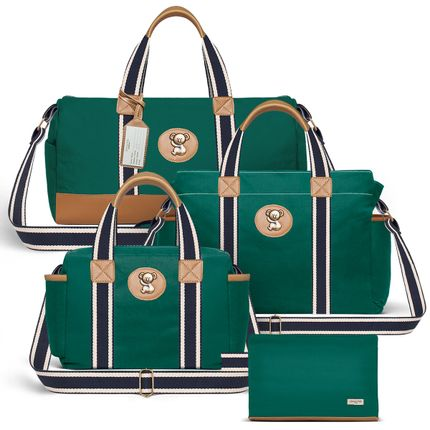 MA1230-BSA1230-FSGC1230-FA1230--ID-65401---Bolsa-Maternidade-Kit-3-pecas-Adventure-Verde---Classic-for-Baby-Bags