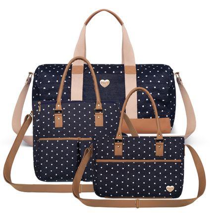 BFSB-9043---FFSB9043---MVSB9043-Bolsa-Maternidade-Print-Love-Kit-3-pecas---Classic-for-Baby-Bags