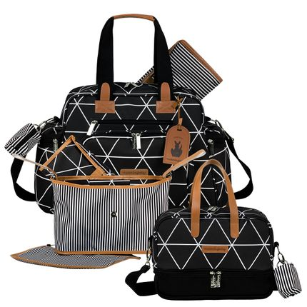 MB12MAN299.02---MB12MAN205.02---MB12MAN601.02--ID76054--Bolsa-Maternidade-Manhattan-Preta-Kit-5-pecas---Masterbag