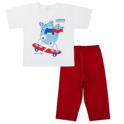 C3483_A-moda-kids-menino-pijama-curto-em-malha-monstro-Cara-de-Sono