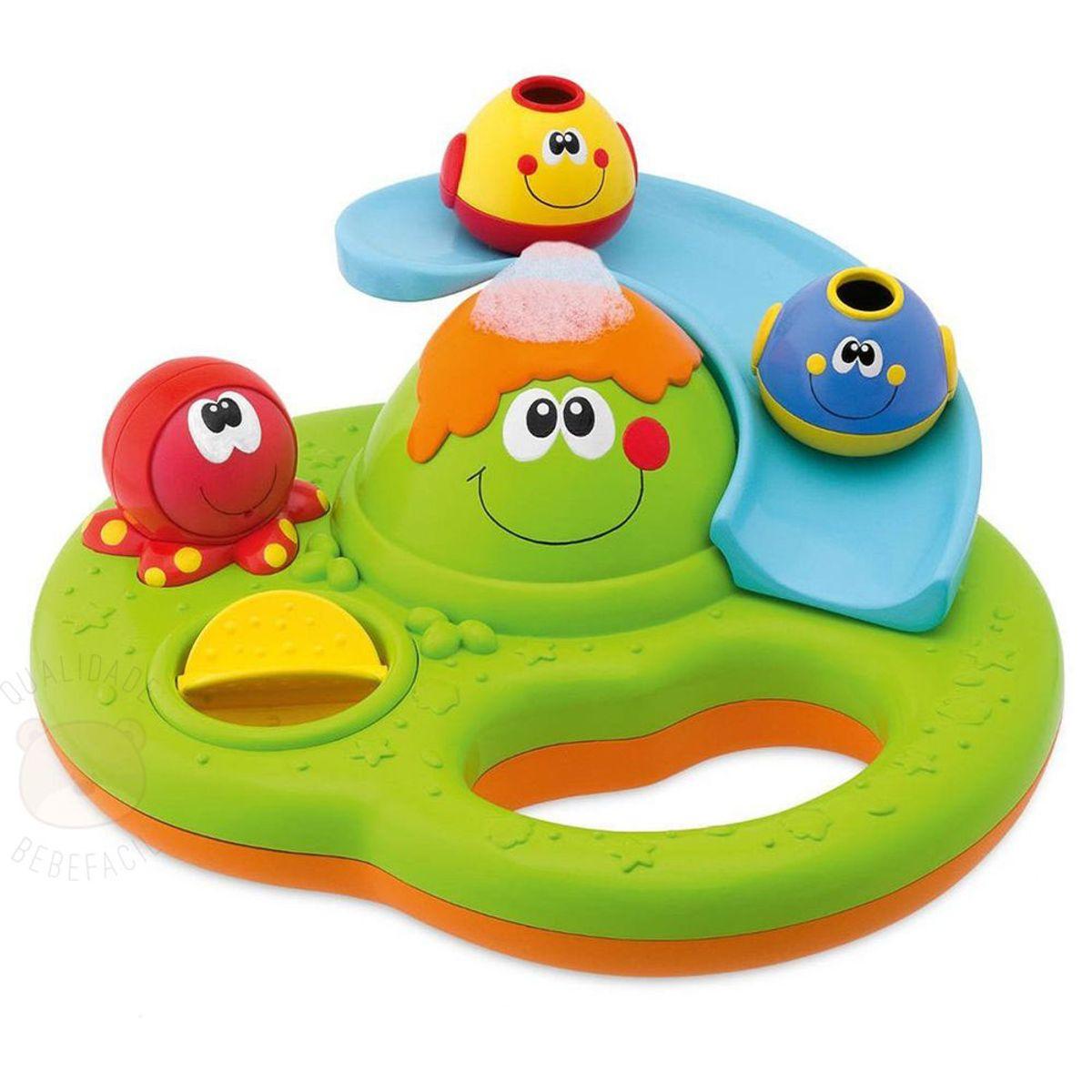 e23ef750ac Brinquedo para banho Bubble Island (6m+) - Chicco