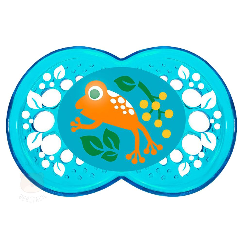 MAM2623-E_Chupeta-Crystal-Silk-Touch-Boys-Tam-2-6m-Frog---MAM-1