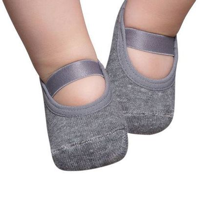 PK6926-L-ME-moda-bebe-menino-menina-meia-sapatilha-mescla-Puket