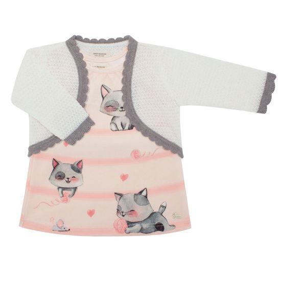 18044561_A-moda-bebe-menina-vestido-calcinha-casaquinho-tricot-meow-meow-Petit-no-Bebefacil-loja-de-roupas-e-enxoval-para-bebes