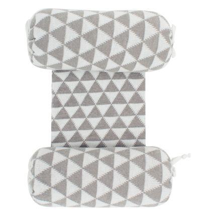 SNT4531_A-enxoval-e-maternidade-bebe--menino-menina-segura-nene-tricot-triangulos-cinza-branco-Petit-no-Bebefacil-loja-de-roupas-enxoval-para-bebes
