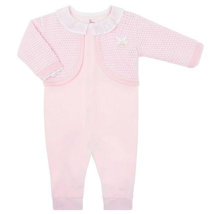 17684573-M_A-moda-bebe-menina-macacao-longo-plush-casaco-tricot-boucle-rosa-Mini-Sailor-no-Bebefacil-loja-de-roupas-e-enxoval-para-bebes