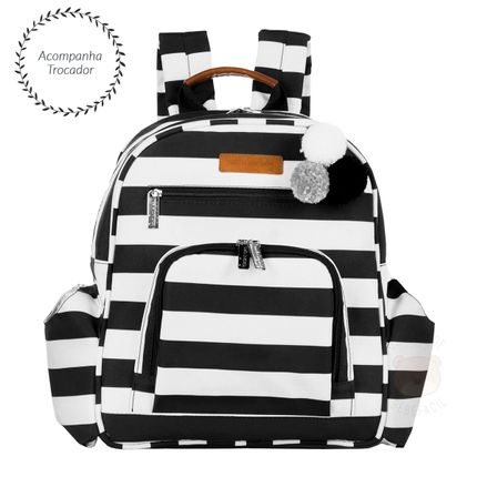 MB12BRO307.21-A-Mochila-Maternidade-Noah-Brooklyn-Black-and-White---Masterbag