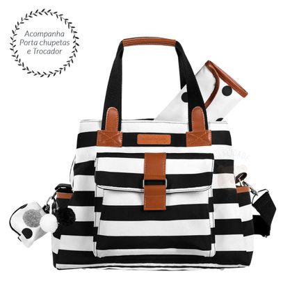 MB12BRO387.21-A-Bolsa-para-bebe-Kate-Brooklyn-Black-and-White---Masterbag