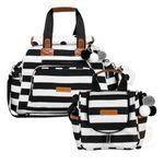MB12BRO299.21---MB12BRO238.21-Bolsa-Everyday---Frasqueira-Termica-para-bebe-Emy-Brooklyn-Black-and-White---Masterbag