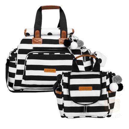 MB12BRO299.21---MB12BRO238.21-Bolsa-Everyday---Frasqueira-Termica-para-bebe-Emy-Brooklyn-Black-and-White---Masterbag