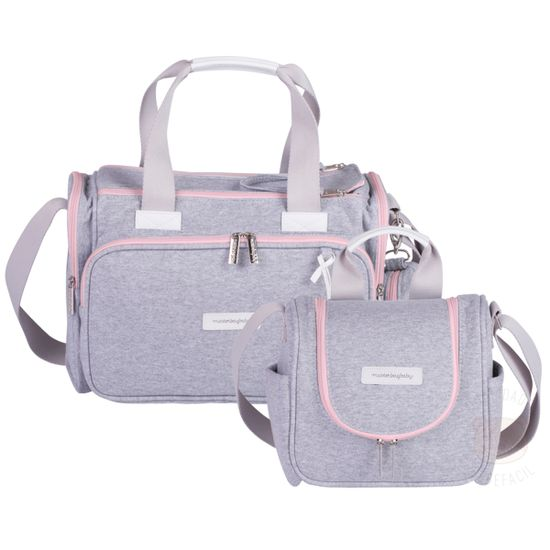 MB11MOL210.25---MB11MOL238.25-Bolsa-Termica-Anne---Frasqueira-Termica-para-bebe-Emy-Moletom-Rosa---Masterbag