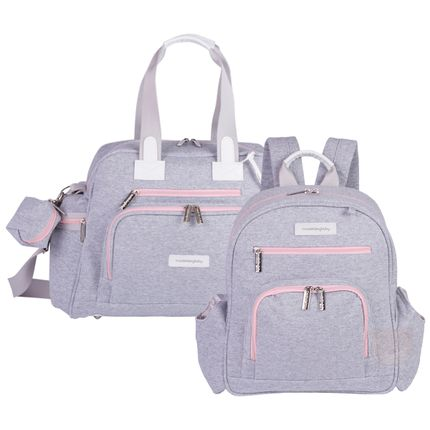 MB11MOL299.25---MB11MOL307.25-Bolsa-Everyday---Mochila-Maternidade-Noah-Moletom-Rosa---Masterbag