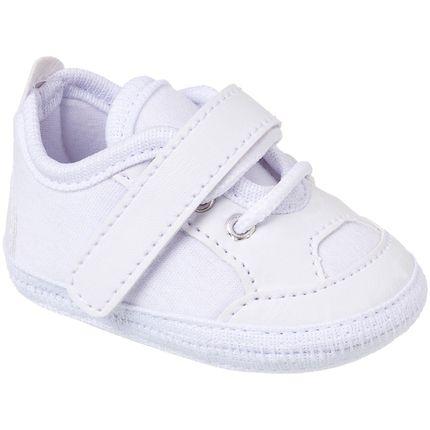 KB3168-45_A-Tenis-para-bebe-branco-no-Bebefacil-loja-roupas-e-enxoval-bebe