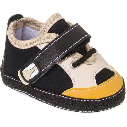 KB3168-73_A-Tenis-para-bebe-preto-no-Bebefacil-loja-roupas-e-enxoval-bebe