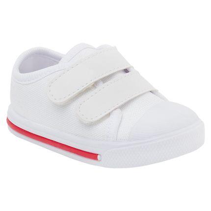 KB24002-162_A-sapatinho-bebe-menina-menino-tenis-star-branco-vermelho-Keto-Baby-no-Bebefacil-loja-de-roupas-e-enxoval-para-bebes