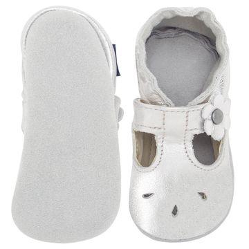 BABO35_B-sapatilha-boneca-bebe-menina-em-couro-eco-prata-no-Bebefacil-loja-de-roupas-e-enxoval-para-bebes