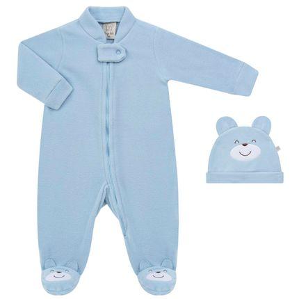 PL65920.AZ_A-moda-menino-macacao-longo-soft---touquinha-para-bebe-Pingo-Lele