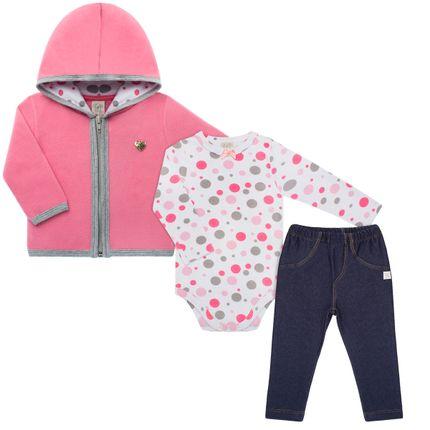 PL65961_A-moda-bebe-menina-conjunto-casaco-capuz-soft-rosa-body-longo-suedine-bubbles-calca-jeans-fleece-Pingo-Lele-no-Bebefacil-loja-de-roupas-e-enxoval-para-bebes