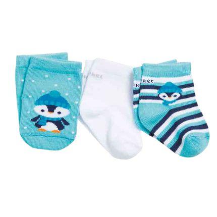 PK6963-PG-moda-bebe-menino-acessorios-tripack-meia-pinguim-puket-no-Bebefacil-loja-de-roupas-enxoval-acessorios-para-bebes