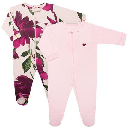 CQ1808431_A-moda-bebe-menina-macacao-longo-ziper-suedine-floral-Coquelicot-no-bebefacil-loja-de-roupas-e-enxoval-para-bebes