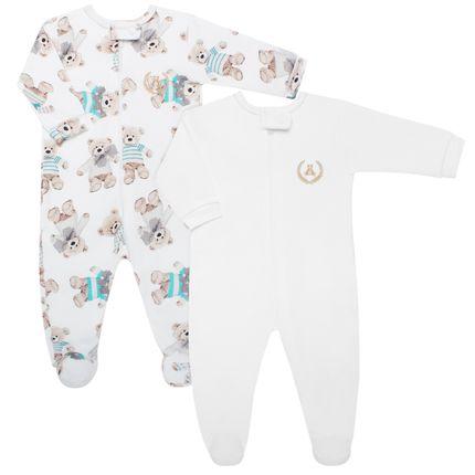 CQ1808438_A-moda-bebe-menino-kit-2-macacao-longos-com-ziper-em-suedine-ursinhos-Coquelicot-no-Bebefacil-loja-de-roupas-e-enxoval-para-bebes