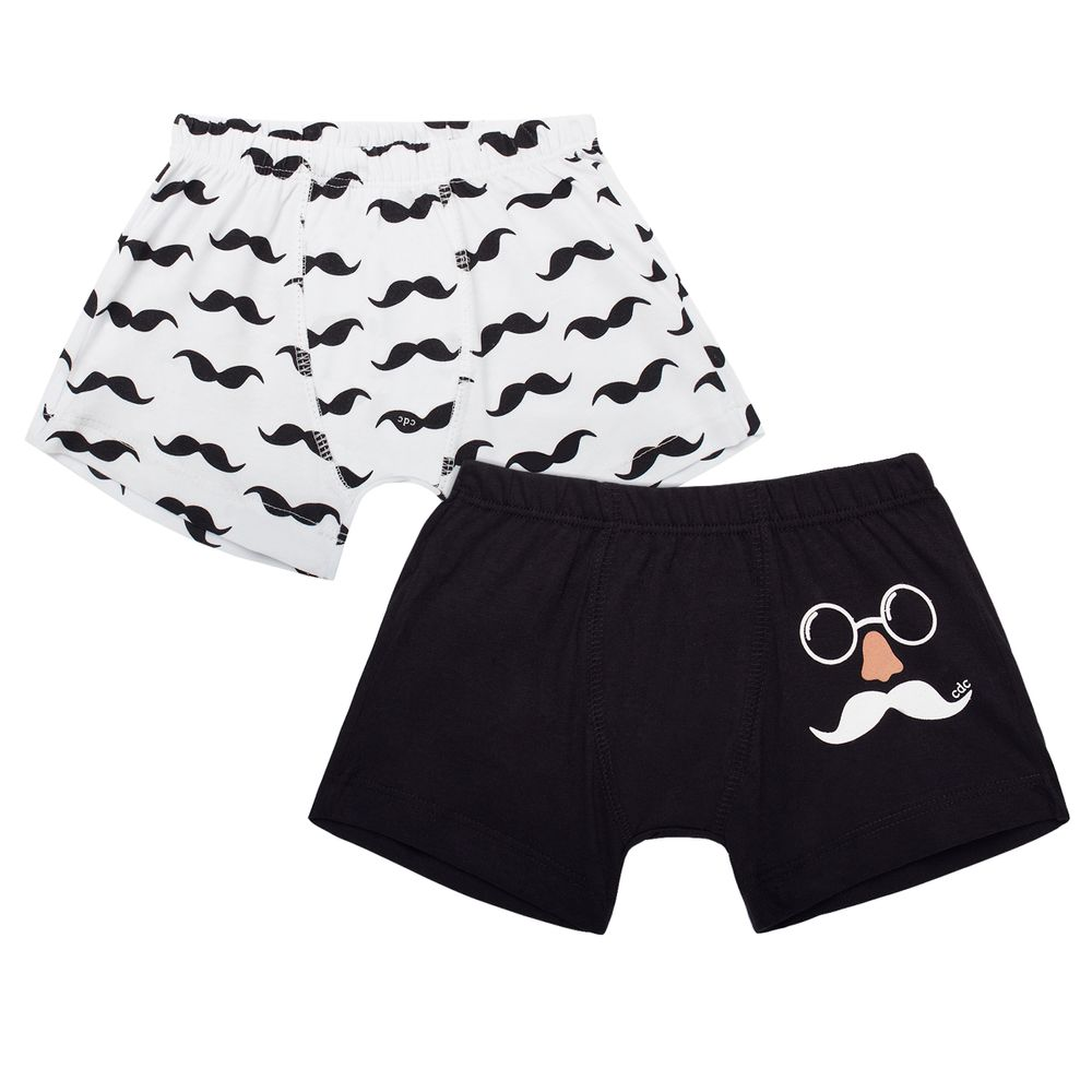 KK3829_A-moda-infantil-menino-kit-2-cuecas-em-malha-bigodon-cara-de-crianca-no-bebefacil-loja-de-roupas-enxoval-e-acessorios-para-bebes