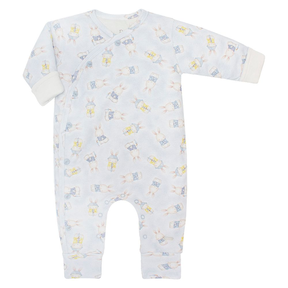 d72332c8abb8a Macacão fofinho em suedine Mon Lapin - Petit no Bebefacil, onde você  encontra tudo em roupas e enxoval para bebês - bebefacil