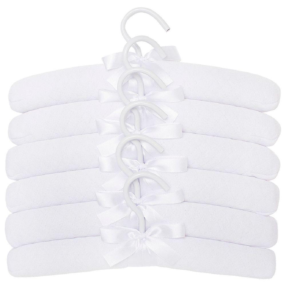 E10406_A-enxoval-e-maternidade-bebe-menino-menina-kit-6-cabides-matelasse-branco-hug-no-bebefacil-loja-de-roupas-enxoval-e-acessorios-para-bebes