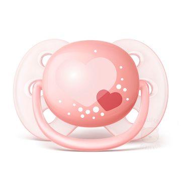 SCF22320-C-Chupeta-Ultra-Soft-2pcs--0-6m--Rosa---Philips-Avent