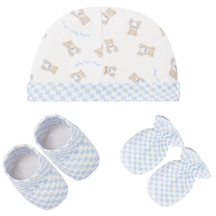 E10607_A-moda-bebe-menino-kit-touca-luva-sapatinho-baby-bear-azul-hug-no-bebefacil-loja-de-roupas-enxoval-e-acessorios-para-bebes