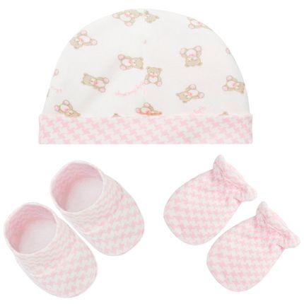 E10707_A-moda-bebe-menina-kit-touca-luva-sapatinho-baby-bear-rosa-hug-no-bebefacil-loja-de-roupas-enxoval-e-acessorios-para-bebes