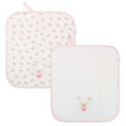 E10701_A-enxoval-e-maternidade-bebe-menina-kit-2-fraldinhas-de-boca-em-suedine-little-bear-rosa-hug-no-bebefacil-loja-de-roupas-enxoval-e-acessorios-para-bebes