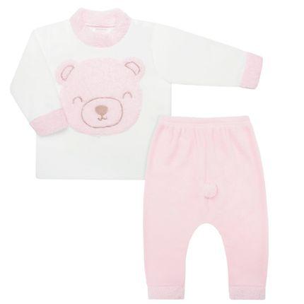 DDK18601-L14_A-moda-bebe-menina-conjunto-longo-blusao-calca-em-microsoft-ursinha-rosa-dedeka-no-bebefacil-loja-de-roupas-enxoval-e-acessorios-para-bebes