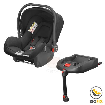 BB568-BB569-A-Bebe-Conforto-Preto-com-Base-ISOFIX-Heritage-Fix-0-13-Kg---Fisher-Price