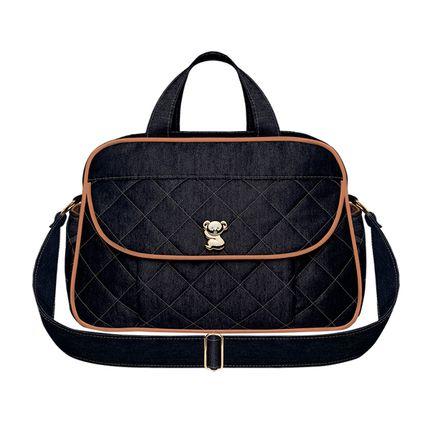 BAJ9091-A-Bolsa-Maternidade-Asturias-Golden-Denim-Camurca---Classic-for-Baby-Bags