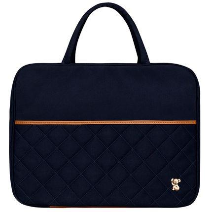MSCB9043-A-Mala-Maternidade-para-bebe-Casual-em-sarja-Marinho---Classic-for-Baby-Bags