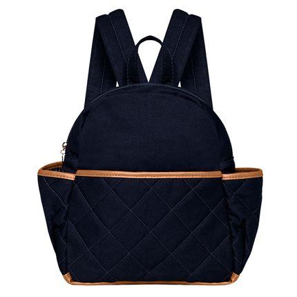 MSBC9043-A-Mochila-Maternidade-Casual-em-sarja-Marinho---Classic-for-Baby-Bags