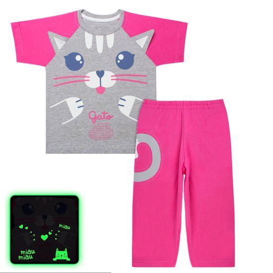 C3642_A-moda-bebe-infantil-menina-pijama-curto-blusa-calcaem-malha-brilha-no-escuro-gatinha-no-bebefacil-loja-de-roupas-enxoval-e-acessorios-para-bebes