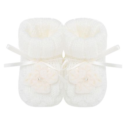 20550070031_A-sapatinhos-bebe-menina-botinha-tricot-flor-mini-perola-marfim-roana-no-bebefacil-loja-de-roupas-enxoval-eacessorios-para-bebes