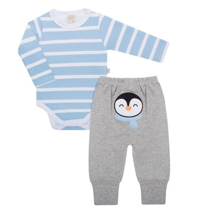 PL66012_A-moda-bebe-menino-conjunto-body-longo-calca-em-suedine-pinguim-pingo-lele-no-bebefacil-loja-de-roupas-enxoval-e-acessorios-para-bebes